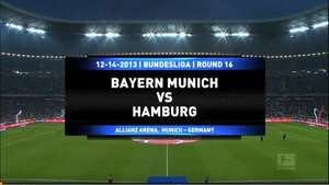 Bayern Munich 3-1 Hamburgo Video:
