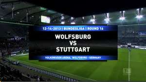 Wolfsburgo 3-1 Stuttgart Video: