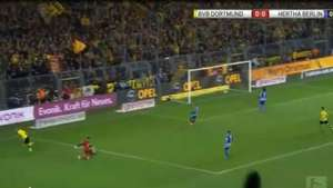 Borussia cae 1-2 ante el Hertha Berlin Video: Gol TV