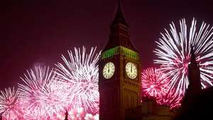 Así celebraron la llegada del 2014 en Londres Video: