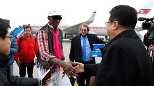 Dennis Rodman regresa a Corea del Norte Video: