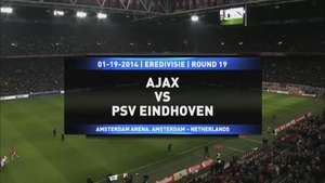Ajax es líder en Holanda tras vencer al PSV Video: