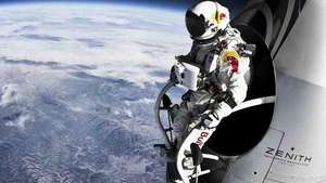 Revelan video inédito del salto en caída libre de Baumgartner Video: