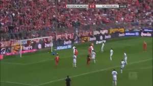 Bayern Munich goleó al Friburgo en la Bundesliga Video: Gol TV