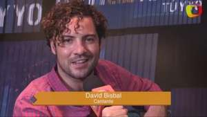 David Bisbal te invita a ver su entrevista en exclusiva por Terra Video: