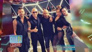 Jennifer Lopez, Ricky Martin and Wisin Team Up For Sexy Music Video Video: