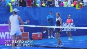 Dominika Cibulkova avanza a semifinales del Abierto Mexicano de tenis Video: