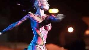 Los cuerpos pintados conquistan el carnaval español Video:
