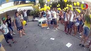 Drone capta la alegría del Carnaval de São Paulo Video: