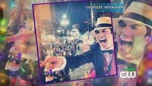 Ian Somerhalder Celebrates Mardi Gras Video: