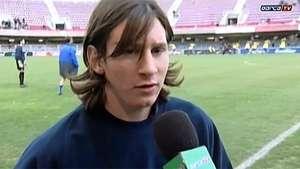 Así debutaba Leo Messi hace 10 años en el Barcelona B Video: