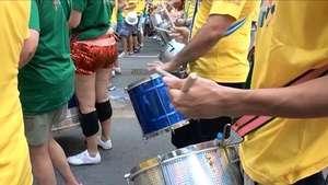 La euforia del Carnaval de Río llega a su fin con el Monobloco Video: