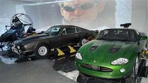 Exponen en Londres los lujosos automóviles del agente 007 Video: