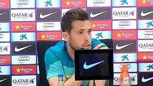 "Jordi Alba: ""Cristiano es una bestia, pero me quedo con Leo"" Video:"