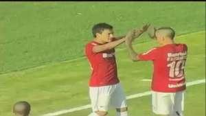 Por partida doble: Mira los goles de Aranguiz en el fútbol de Brasil Video: