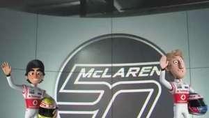 La historia de McLaren en dibujos: el comienzo Video: