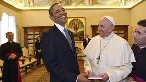 El Papa recibe a Obama en el Vaticano Video: