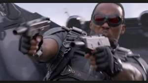 Anthony Mackie toma vuelo a la acción en 'Captain America: The Winter Soldier' Video: