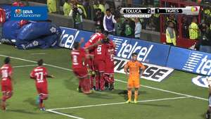 Jornada 13, Toluca 2-1 Tigres, Clausura 2014 Video: