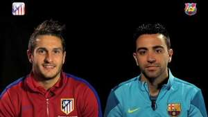 Koke y Xavi analizan la eliminatoria de Champions Video: