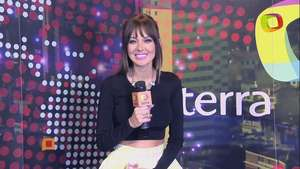 Patricia Zavala, presentadora del Coffee Break de E! Entertainment en 'Un minuto con Video: Terra Colombia