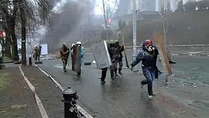 Ucrania acusa a Rusia de muertes de manifestantes Video: