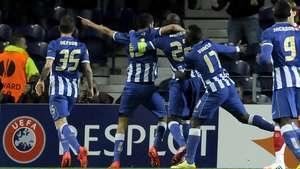 El Porto vence 1-0 al Sevilla por la Liga Europa Video: