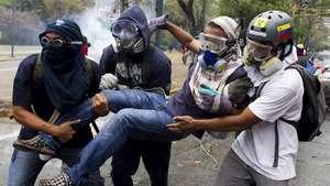 Nuevos disturbios en Caracas durante una protesta estudiantil Video: