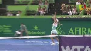 Caroline Wozniacki califica a semifinal en Abierto de Monterrey Video: