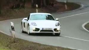 Al volante del Porsche Cayman S Video: