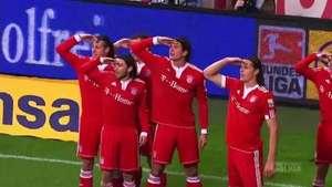 Las 10 mejores celebraciones de gol en la Bundesliga Video: