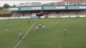 Gol maradoniano en Tercera División Video: