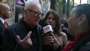 Alex de La Naranja Mecánica, Malcolm McDowell, llega a Perú Video: