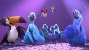 'Rio 2' y 'Draft Day' llegan a los cines de Estados Unidos Video: EFE