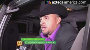 Arrestan a Juan Rivera en Tucson Video: Azteca America