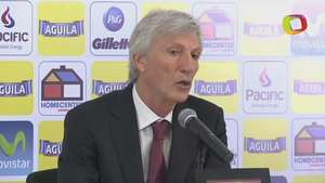 José Pékerman habló en conferencia de prensa Video: Terra Colombia