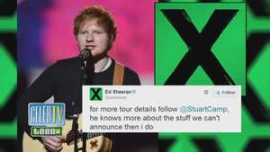 Ed Sheeran's Big Announcement! Video: Terra USA