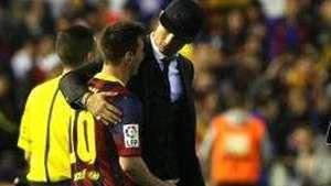 Así fue el saludo entre Cristiano Ronaldo y Messi tras final de Copa del Rey Video: