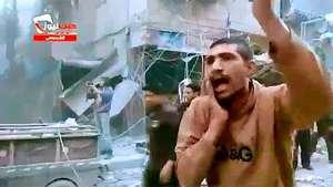 Un video muestra la desesperación tras el ataque aéreo en Alepo Video: