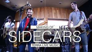 Making of de Sidecars en Terra Live Music Video: