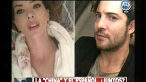 "¿Pasó algo entre David Bisbal y la ""China"" Suárez? Video:"