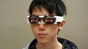 Investigador japonés crea gafas para dormir y que no se note Video: