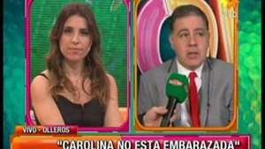 "Fabián Doman: ""Carolina no está embarazada"" Video:"