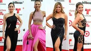 Miami brilla con la alfombra roja de los Billboard latinos Video: