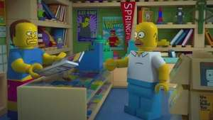 Los Simpsons festejan episodio 550 como Legos Video: