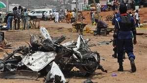Llegan a 19 los muertos por carro bomba en Nigeria Video: