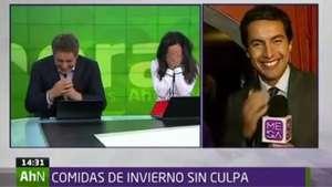 Chascarro en vivo de conductora de Mega se convierte en furor en la web Video: