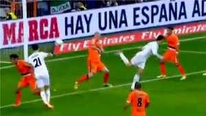 De taquito! Cristiano Ronaldo anota golazo al Valencia Video: