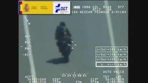 Infracciones de motoristas cazadas por el radar Pegasus Video: