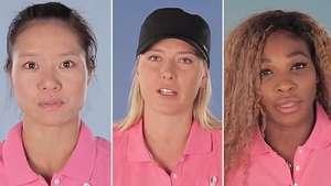Las mejores tenistas del mundo, contra la violencia de género Video: